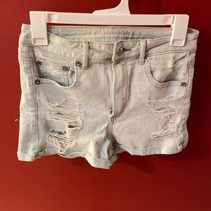 American Eagle High Waisted Super Stretch Shorts